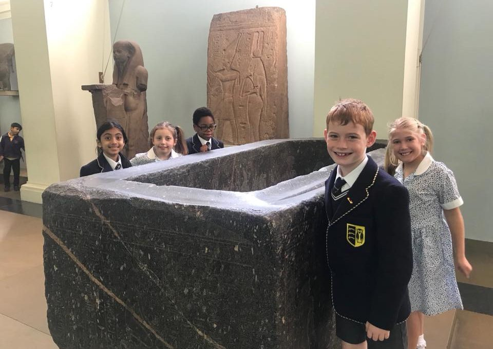 Junior Pupils visit British Museum