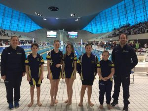 Senior Pupils at Swimming Finals